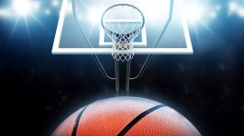 4K Basketball Ball Aircraft Picture