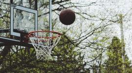 4K Basketball Ball Photo Download