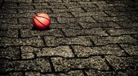 4K Basketball Ball Wallpaper
