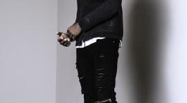 4K Black Male Model Wallpaper For IPhone#1