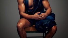 4K Black Male Model Wallpaper For Mobile