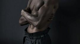 4K Black Male Model Wallpaper For Mobile#3