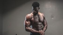 4K Black Male Model Wallpaper HQ