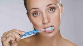 4K Brush Teeth Photo