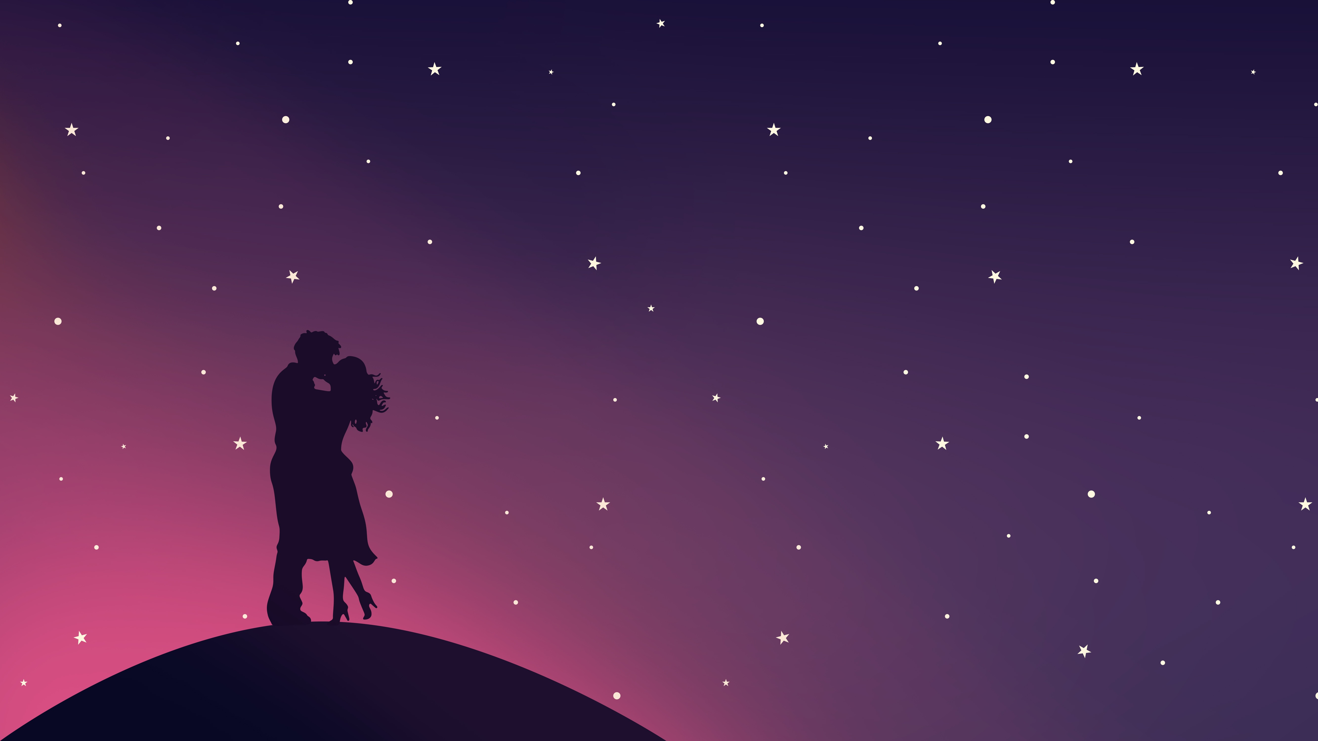4k Couple Kiss Love Wallpapers High Quality Download Free