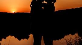4K Couple Kiss Love Wallpaper For Mobile#1
