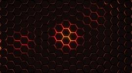4K Hexagon Photo Download