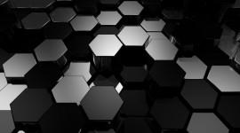 4K Hexagon Photo Free