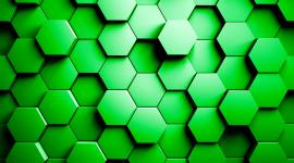 4K Hexagon Wallpaper 1080p