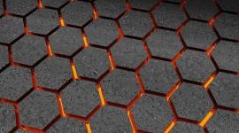 4K Hexagon Wallpaper For Desktop