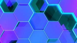 4K Hexagon Wallpaper For Mobile