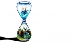 4K Hourglass Wallpaper Download Free