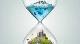 4K Hourglass Wallpaper HQ