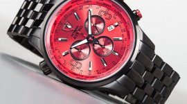 4K Men's Wrist Watch Image