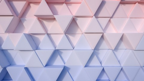 4K Mosaic Triangles wallpapers high quality