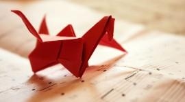 4K Origami Desktop Wallpaper HD