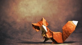 4K Origami Photo Download