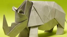 4K Origami Wallpaper For Desktop