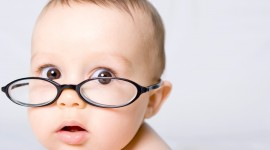 Baby Glasses Desktop Wallpaper HD