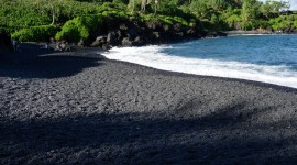 Black Sand Desktop Wallpaper For PC