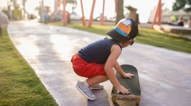 Child Skateboard Wallpaper