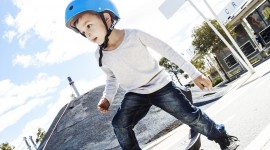 Child Skateboard Wallpaper For Android