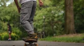 Child Skateboard Wallpaper For IPhone