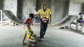 Child Skateboard Wallpaper HQ