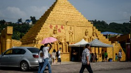 Chinese Pyramids High Quality Wallpaper