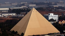 Chinese Pyramids Wallpaper Free