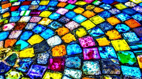 Colored Mosaic wallpapers high quality