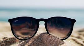 Glasses On Sand Wallpaper For Mobile#1