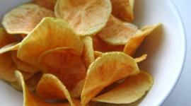 Homemade Chips Desktop Wallpaper HD