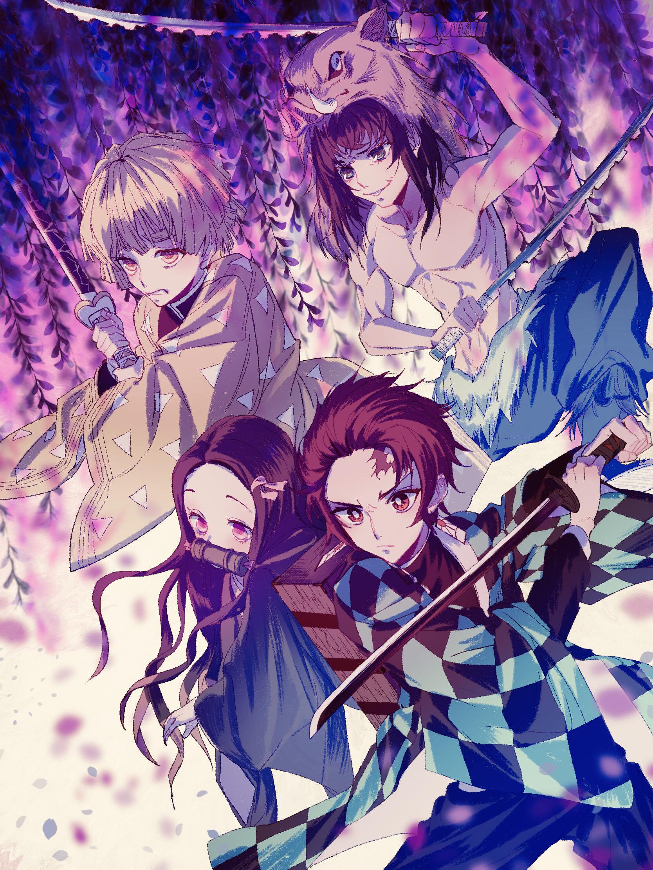 Kimetsu No Yaiba Wallpapers High Quality Download Free