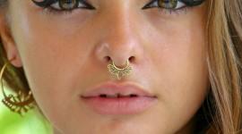 Nose Piercing Wallpaper