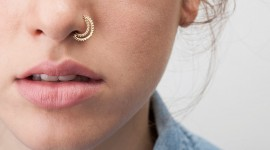Nose Piercing Wallpaper Full HD