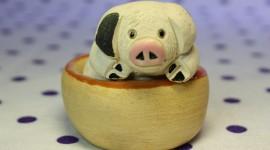 Pig Figurine Photo Download