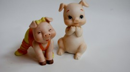 Pig Figurine Photo Free