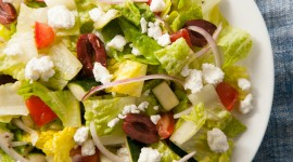 Salad With Olives High Quality Wallpaper