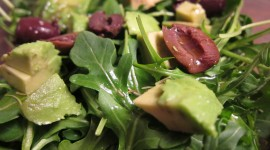 Salad With Olives Wallpaper Download Free