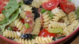 Salad With Olives Wallpaper For PC