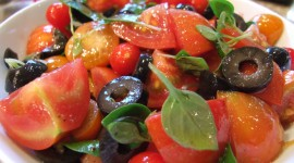 Salad With Olives Wallpaper Gallery