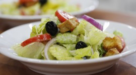 Salad With Olives Wallpaper HD