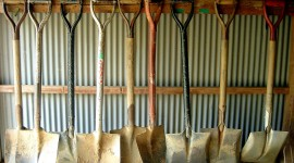 Shovels High Quality Wallpaper