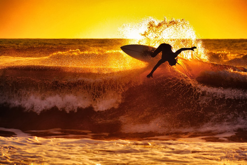 Surfer Sunset wallpapers HD