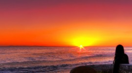 Surfer Sunset Wallpaper For Mobile