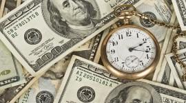 Time Is Money Desktop Wallpaper HD