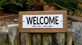 Welcome Wallpaper Free