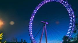 4K Ferris Wheel Desktop Wallpaper HD