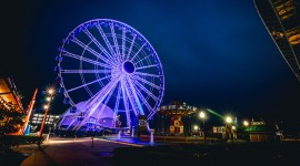 4K Ferris Wheel Image